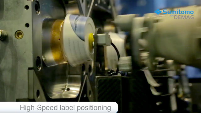 High-Speed In-Mould Labeling packaging under 1.8 seconds -Sumitomo (SHI) Demag